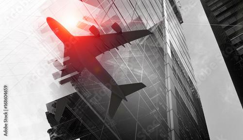Plakaty samolot