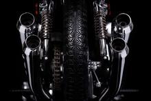Klassisches Motorrad 1970er Ja...
