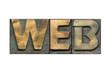 web word isolated
