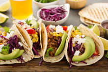 Pulled Pork Tacos With Red Cab...