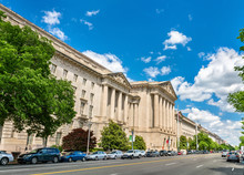 United States Environmental Protection Agency Building In Washington, DC. USA