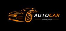 Car Logo Abstract Lines Vector...