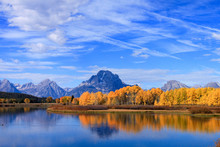 Fall Colors Grand Tetons National Park