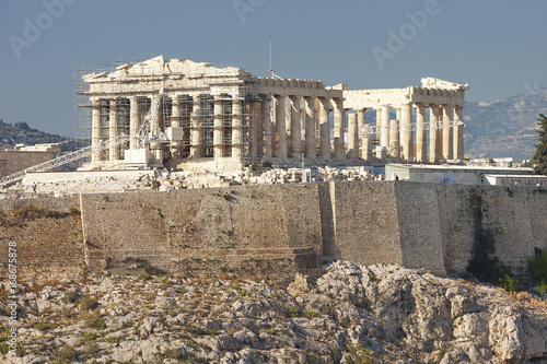 Fotobehang Athene The Parthenon Athens Greece during the day