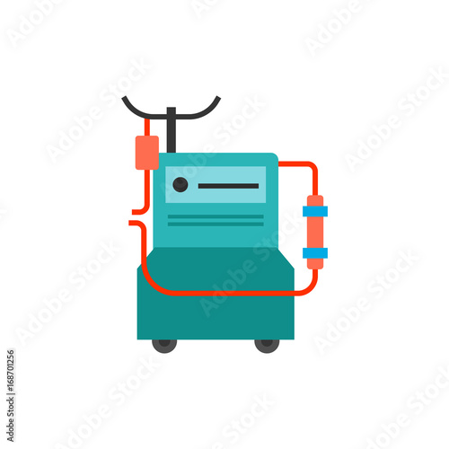 Foto  Dialysis machine icon