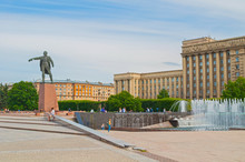 Monument To Lenin And Complex ...