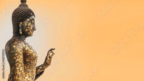 Tuinposter Boeddha Buddha statue