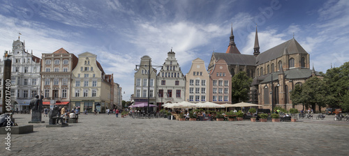 Cuadros en Lienzo City of Rostock Germany