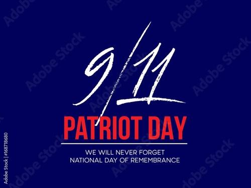 Fotografia  September 11, 2001 Patriot Day background