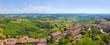 Toskana-Panorama, San Miniato im Chianti-Gebiet