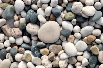 Obraz na Plexi Do łazienki beach stones background