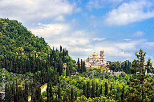 Photo New Athos Monastery of St. Simon the Canaanite. Abkhazia