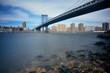 Manhattan Bridge and downtown New York City