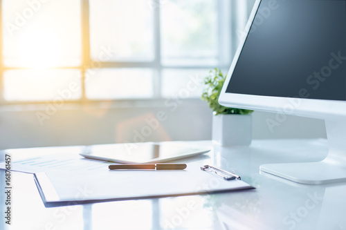 Admirable The Abstract Office Desktop Buy This Stock Photo And Download Free Architecture Designs Embacsunscenecom