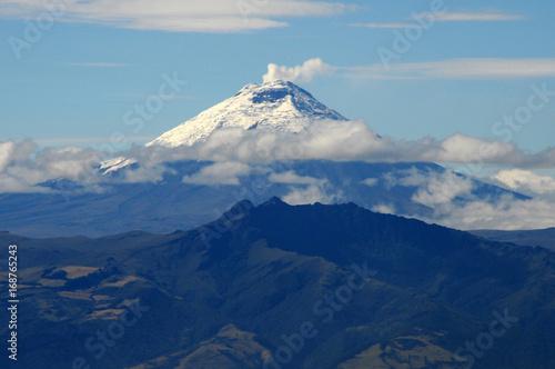 Staande foto Vulkaan Vulkan Cotopaxi Ecuador