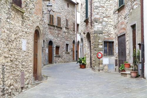 Radda in Chianti, Tuscany, Italy Fotobehang