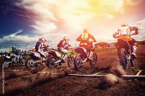 motorcross stunts bike.