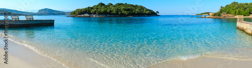 Photo Ksamil beach, Albania.