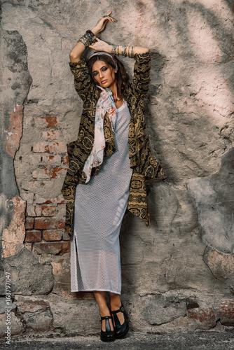 Poster Gypsy gypsy style look