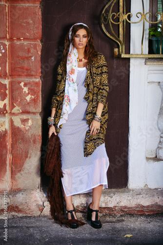 Poster Gypsy feminine beauty style