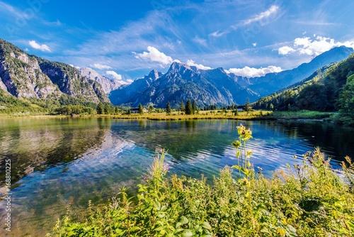 Photo Alpine Lake Almsee Austria