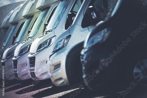 Billede på lærred RV Motorhomes Industry