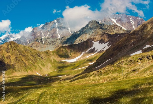Canvas Prints Honey Swiss Alpine Landscape