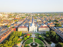 Aerial View Of Jackson Square ...
