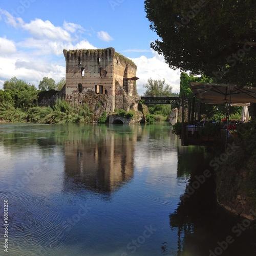 Fotografie, Obraz  Borghetto sul Mincio, the Loveliest and the Prettiest Village You Will Ever Visi