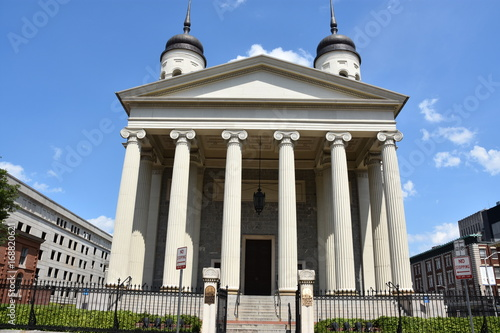 Fotografie, Obraz  Basilica of the National Shrine of the Assumption of the Blessed Virgin Mary, in