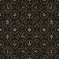 Naklejkaart deco wallpaper pattern