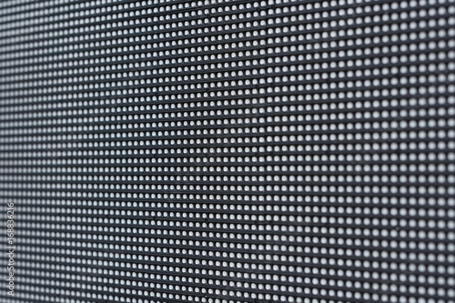 close up of LED component in Panel installed outdoor Tablou Canvas