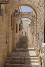 Narrow Jerusalem Street
