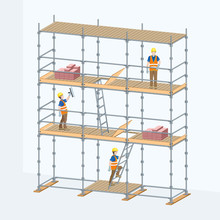 Multi-level Scaffolding With W...