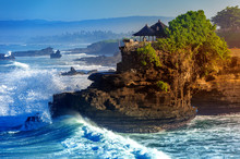 Tanah Lot Temple In Bali Islan...
