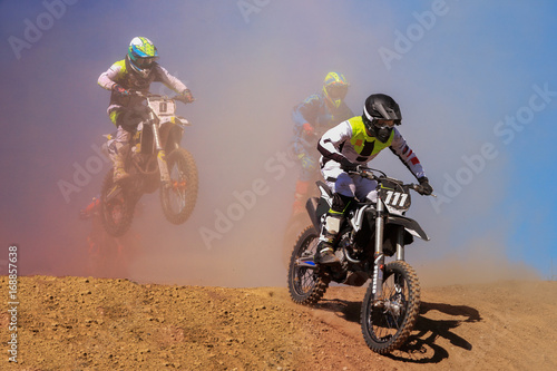 Foto op Canvas Motorsport motocross