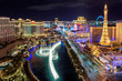 Las Vegas strip, Aerial view