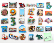 Many Magnets On The Refrigerator From The Countries Of The World - Where To Go?