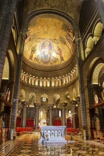 Interior of Saint Nicholas Cathedral in Monaco-Ville, Monaco.