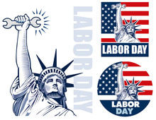 Labor Day With Statue Of Liber...