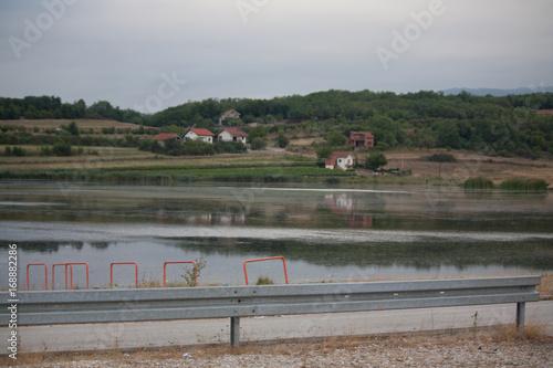 Poster Airport lake