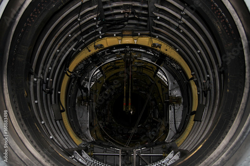Fototapeta Large Hadron Collider from the inside obraz