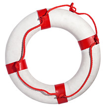 Red And White Life Preserver O...