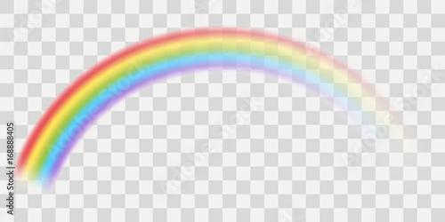 vector rainbow with transparent effect acheter ce vecteur libre de