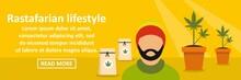 Rastafarian Lifestyle Banner H...