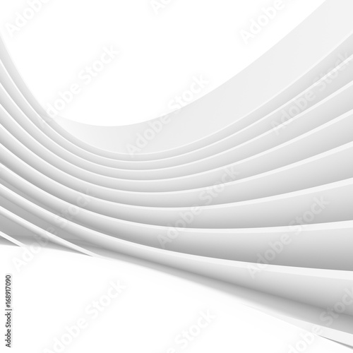 Fototapety Geometryczne   white-architecture-circular-background-abstract-interior-design