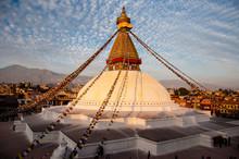 Boudhanath  Buddyjska Stupa Pr...