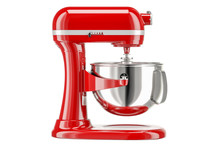 Red Stand Kitchen Mixer, Side ...