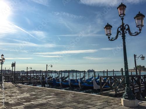 Gondolas and Light Post