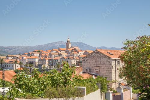 Valokuva Korcula Island, view of city, Croatia